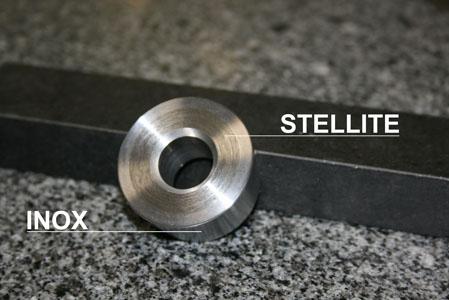 Siège Pompe Bi-matière Stellite Et Inox