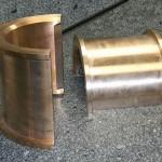 Demi coussinet bronze 'parfait'