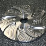 Turbine de pompe au modèle